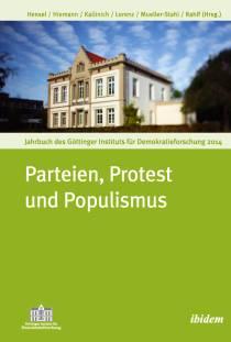 Cover ›Parteien, Protest und Populismus‹