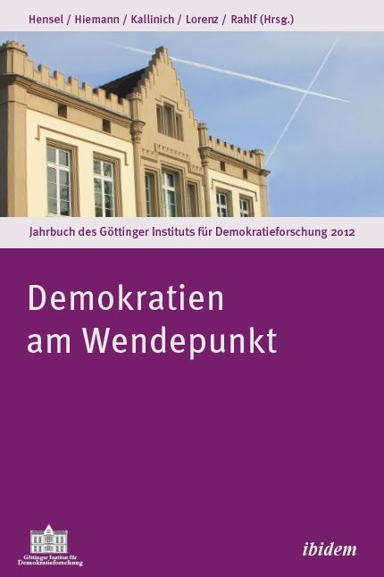 Cover ›Demokratien am Wendepunkt‹